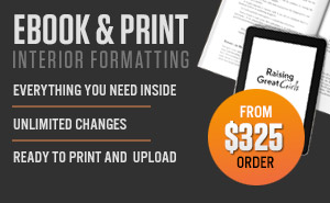 Formatting and Layout for both Print and Ebook