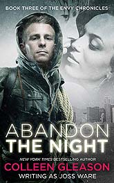 AbandonTheNight2 Book Cover Design Sample