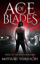 Ace Of Blades Book Cover Design