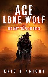 Book Cover Design Ace Lone WolfD10