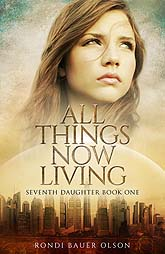 Book Cover Design Sample All Things Now Living