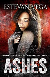 Book Cover Design Sample Ashes3