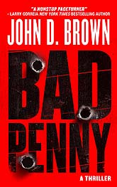 Book Cover Design Bad Penny
