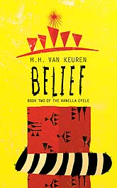 Belief Book Two Of The Vanilla Cycle Cover Design