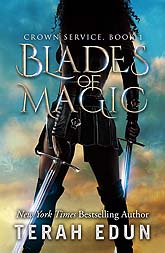 Book Cover Design BladesOfMagic b2