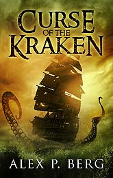 Curse Of The Kraken Book Cover Design