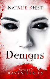 Book Cover Design Sample Demons