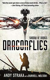 Cover Design Sample Dragonflies