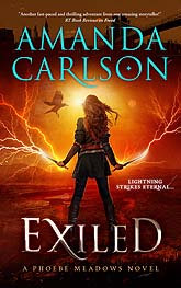Exiled ebook Cover Design Sample