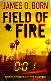 FieldOfFire3b Book Cover Design