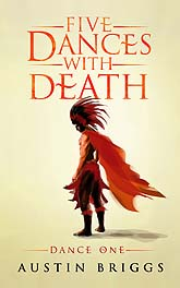 Five Dances with Death Dance One Ebook1 Cover Design