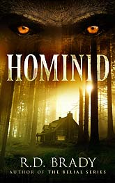 Hominid Book Cover Design