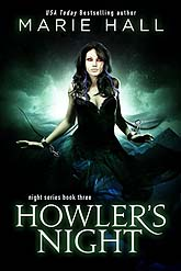 Howlers NightD3 Sample Book Cover Design