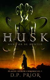 Husk ebook Cover Design