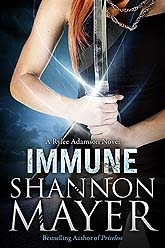 Book Cover Design Sample Immune1