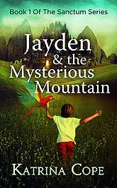 Jayden The Mysterious MountainD3 Book Cover Design