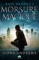 Book Cover Design Kate Daniels 1 Morsure Magique   a6