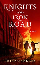 Book Cover Design Knights On The Iron Road