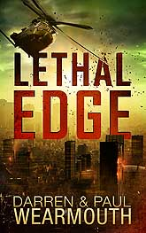 Lethal Edge Book Cover Design Sample