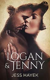 Logan And Jenny Book Cover Design