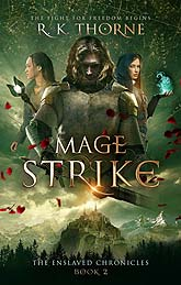 Mage strike ebook Book Cover Sample