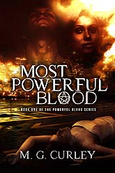 Cover Design Most Powerful Blood Ebook