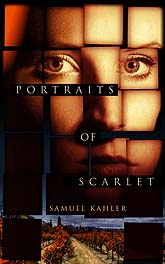 Book Cover Design Portrait Of Scarlet