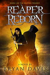 Reaper Reborn b1 Book Cover Design