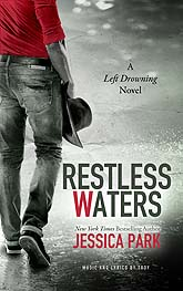 Restless Waters Book Cover Design Sample