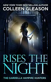 Book Cover Design Rises the Night 3C