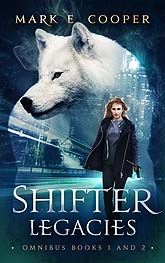 Shifter legacies front Book Cover Design