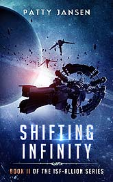 Shifting Infinity Cover Design