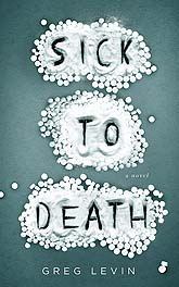 SicktoDeath COVER teal Book Cover