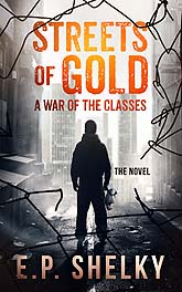Streets Of Gold Book Cover Design