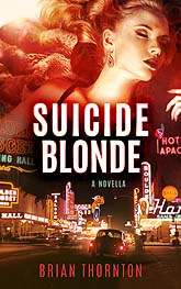Book Cover Design Sample Suicide Blonde