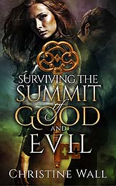 Surviving The Summit Of Good And Evil Sample Book Cover Design