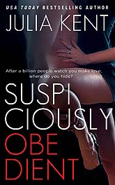 Cover Design Sample Suspiciously Obedient nook ebook