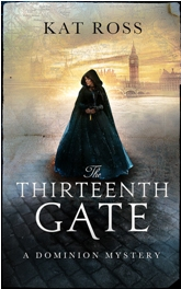 The Thirteenth GateD3.jpeg Book Cover Design