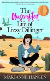 Book Cover Design The Unscripted Life of Lizzy DillingerD4