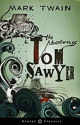 Book Cover Design Sample The Adventures of Tom Sawyer LR