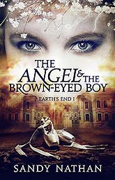 Book Cover Design Sample The Angel the Brown Eyed Boy