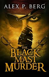 The Black Mast Murder Book Cover Design Sample