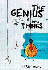 Book Cover Design Sample The Genius of Little Things LR