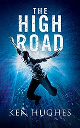 The High Road Book Cover Design Sample
