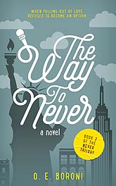 The Way To Never Book Cover Design Sample