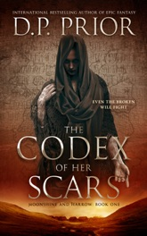 The codex of her scars  05.jpeg Book Cover Design Sample