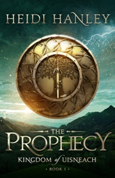 The prophecy 03 Book Cover Sample