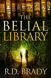 The Belial Library Book Cover Design