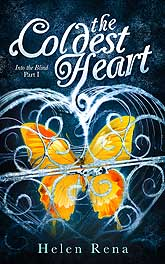 The Coldest Heart Book Cover Design Sample