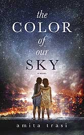 The Color of Our Sky Sample Book Cover Design